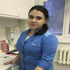 Медицинская сестра в клинике Жечужина Тамбов